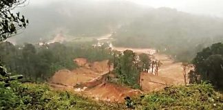 kavalappara landslide rescue operations