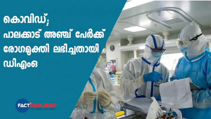 5 more COVID-19 patients discharged today from Palakkad