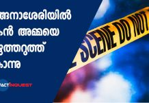 Son killed his mother in Kottayam