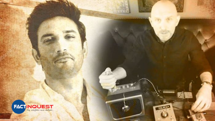 Paranormal expert Steve Huff claims he talked to Sushant Singh Rajput's spirit