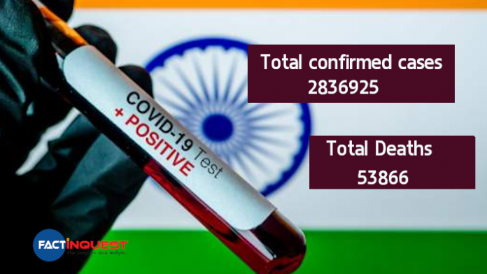 Coronavirus LIVE Updates: India Sees Spike of Over 69,000 Cases & 977 Deaths in 24 Hrs