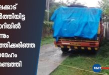 burned dead body found in a lorry in Palakkad