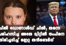 """""""Chill, Donald, Chill"""": Greta Thunberg Trolls Trump With His Own Words"""