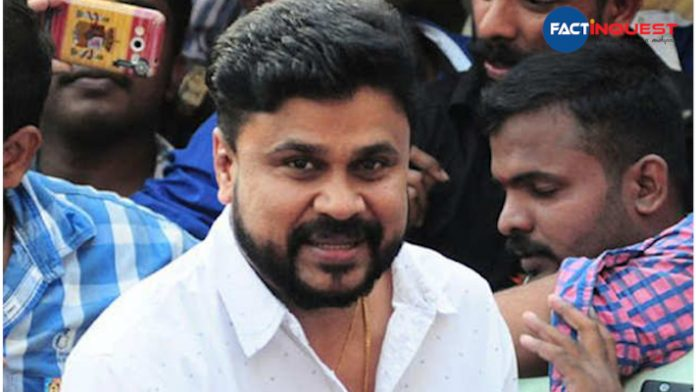 the court rejected a plea against Dileep which wants to revoke his bail