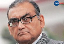 Babari Masjid demolition is the greatest tragedy in India after partition, says Markandey katju