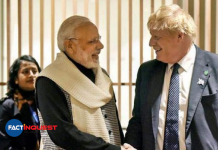 UK PM Boris Johnson accepts India's invite to be the chief guest at Republic day Parade.