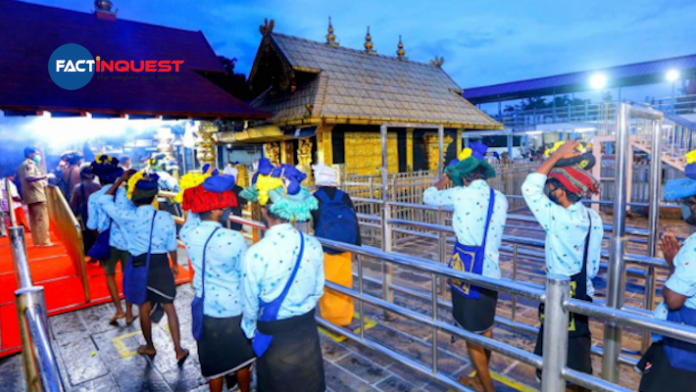 News COVID-19 guidelines for Sabarimala pilgrims issued