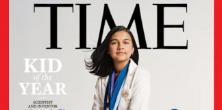 "Indian-American Gitanjali Rao, 15, First-Ever TIME ""Kid Of The Year"""