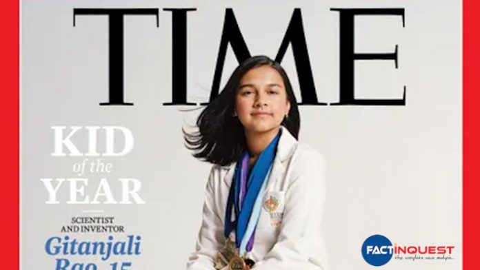 Indian-American Gitanjali Rao, 15, First-Ever TIME