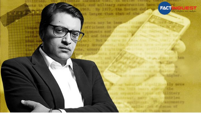 Arnab's chats: Maharashtra seeking legal opinion for action, says Minister