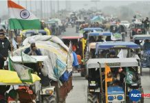 Farmers break police barricades at Delhi borders ahead of tractor rally