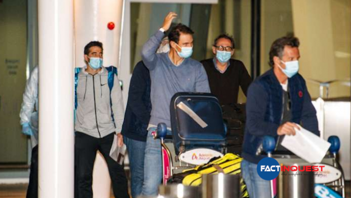 Open: 3 COVID-19 positive cases detected; 47 players forced into strict quarantine