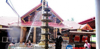 controversy over ad shot at guruvayor temple