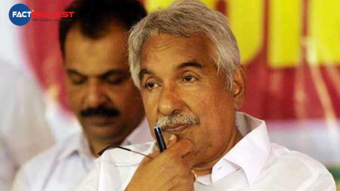 the solar case against Oommen Chandy and others have been handed over to CBI
