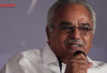 Kanam Rajendran about the candidate list