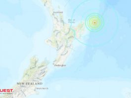 Tsunami warnings as third strong earthquake strikes off New Zealand